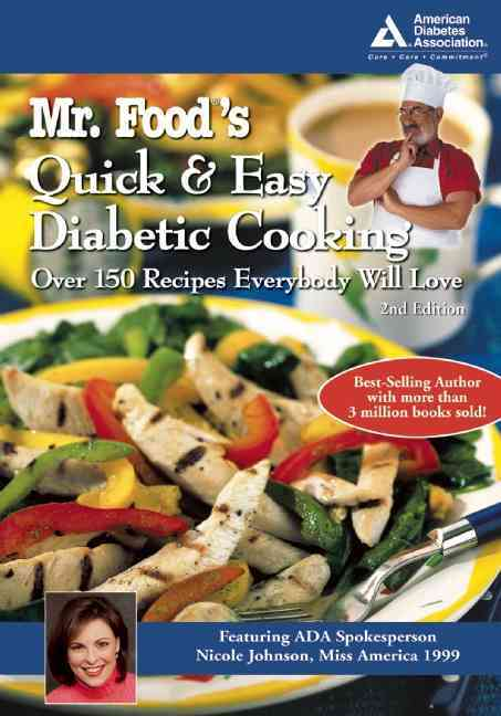 Mr. Food's Quick & Easy Diabetic Cooking By Ginsburg, Art/ Johnson, Nicole (CON)/ American Diabetes Association (COR)